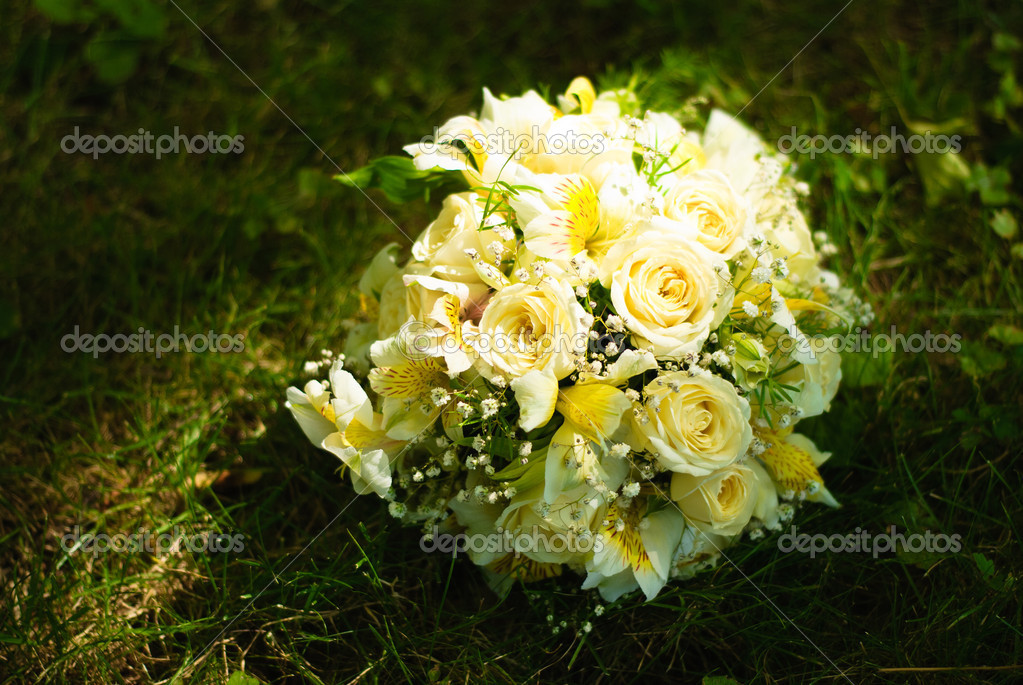 Hochzeitsstrauss Stockfoto C Olegator1977 6399952