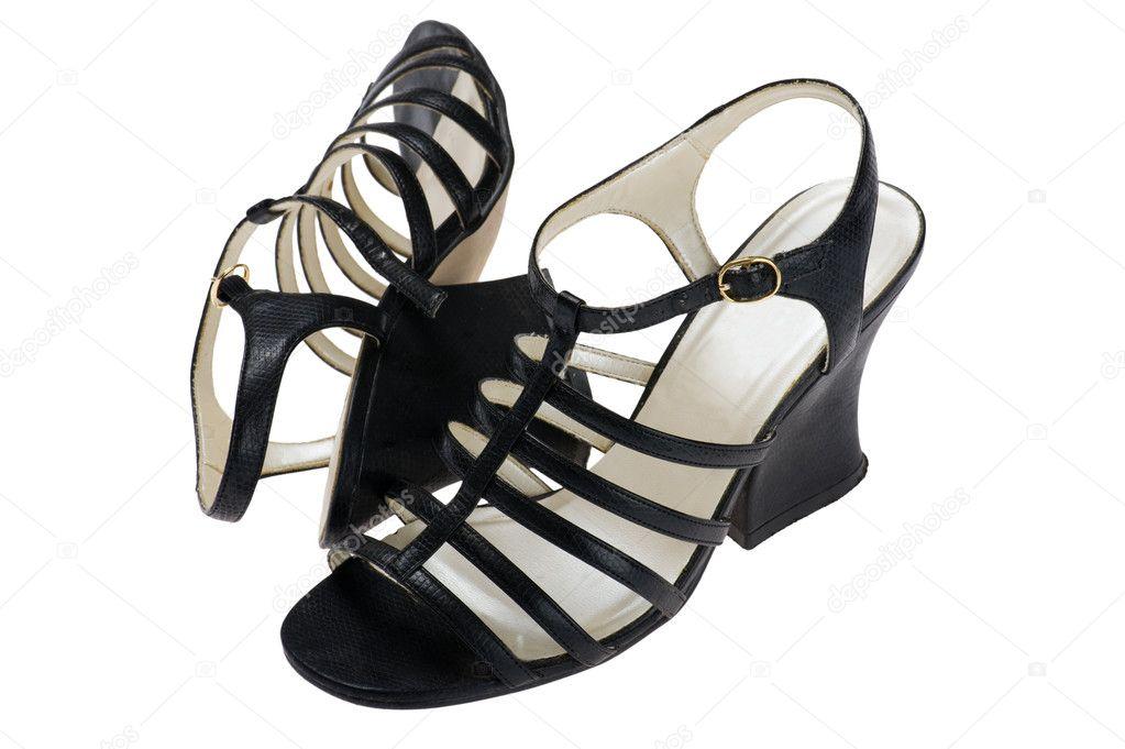 d251737c63f ženy černé boty na léto — Stock Fotografie © Garry518  5853823