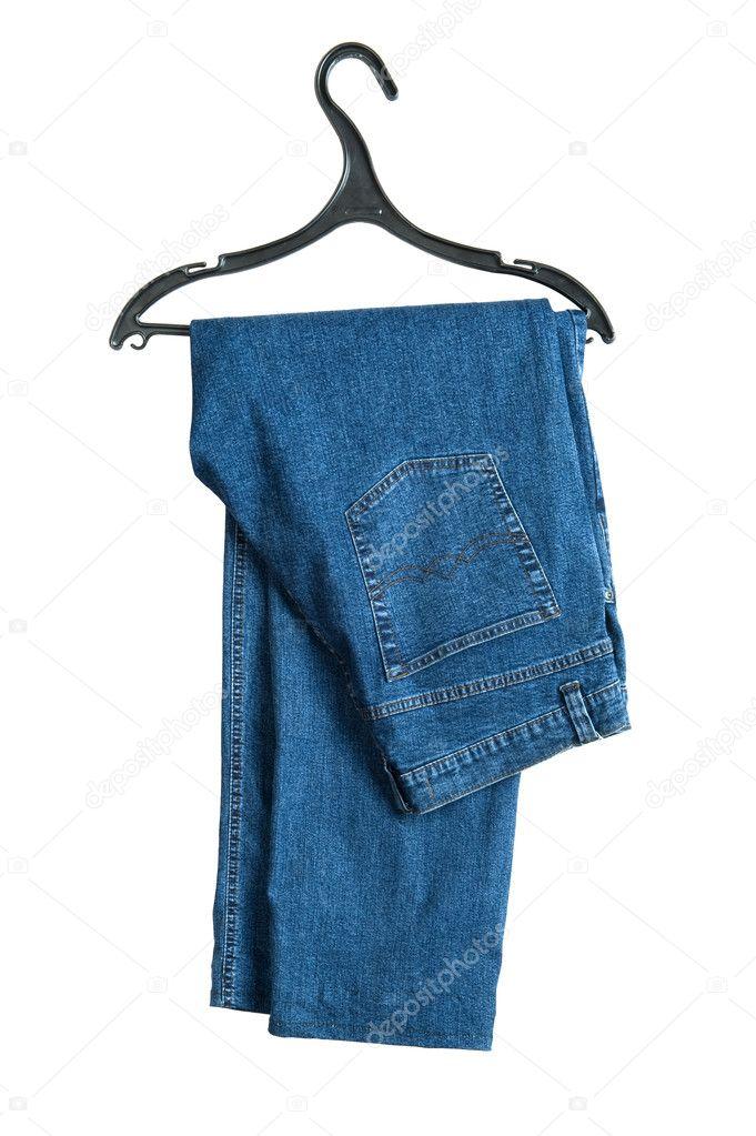 — Garry5186254643 Stockfoto Mit Jeans Kleiderbügel Auf © Weiß xodCBWre