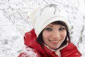 Fényképek szép téli lány