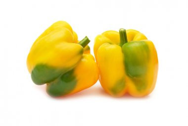 Two yellow paprica
