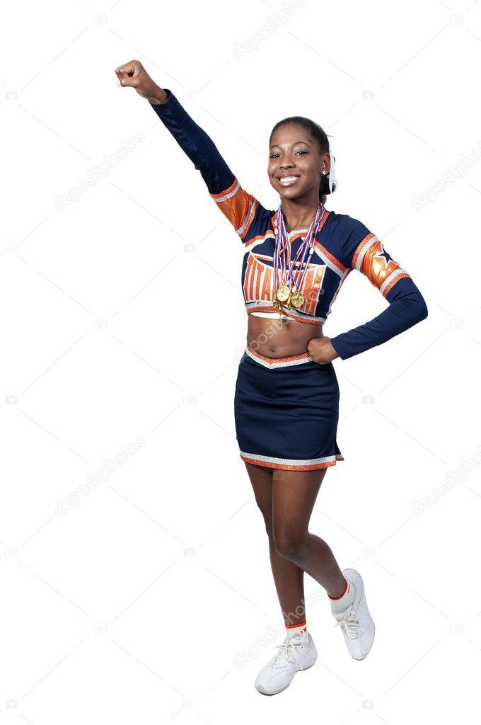 Real teen girl cheerleader variant
