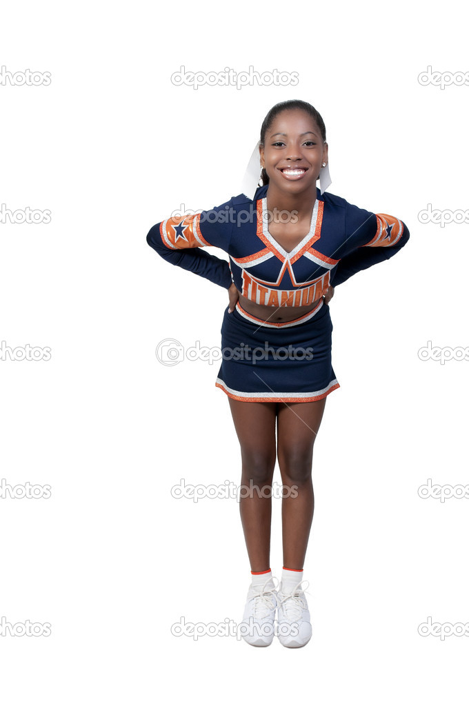 Have thought Young teen girl cheerleader