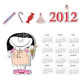 Kalendář pro rok 2012