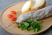 Photo Salami cheese