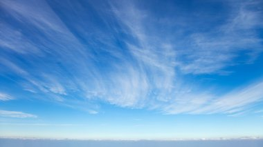 Beautiful cirrus clouds