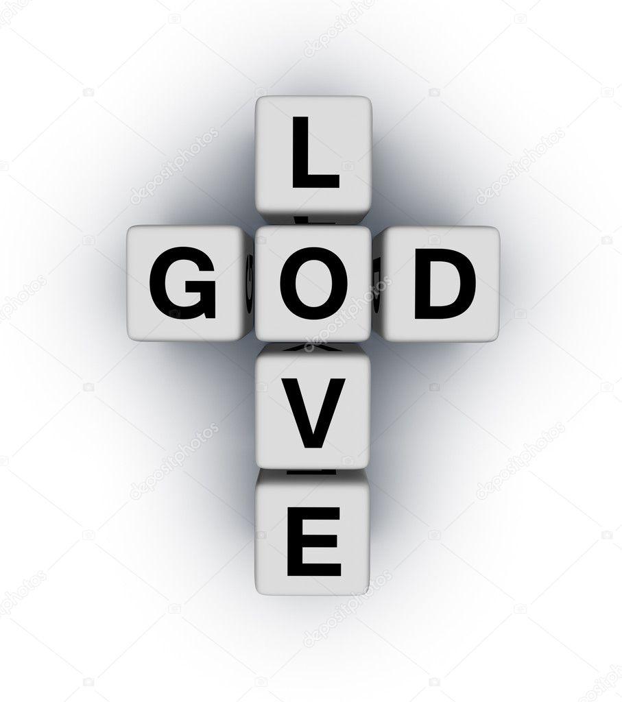 Ο Θεός είναι αγάπη — Φωτογραφία Αρχείου © almagami #5530374