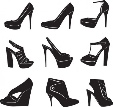 Beauty woman's shoes collection