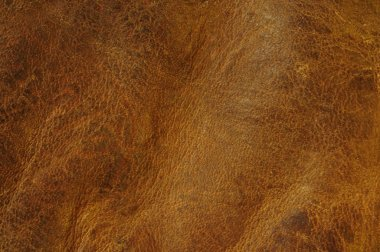 Distressed leather texture
