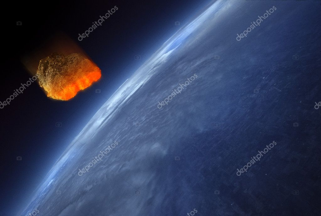 earth scientist suggests comet - HD1536×1033