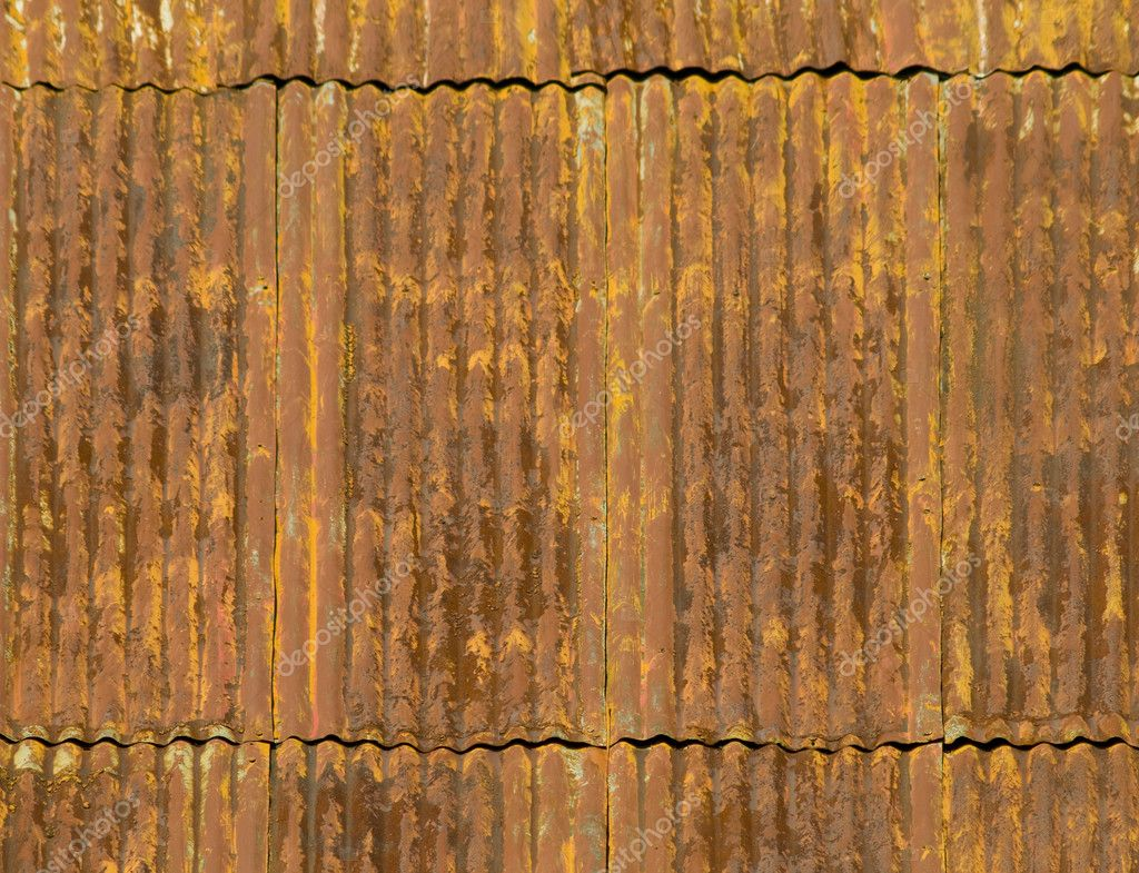 Corroded And Rusty Corrugated Metal Roof Panels U2014 Photo By Balefire9