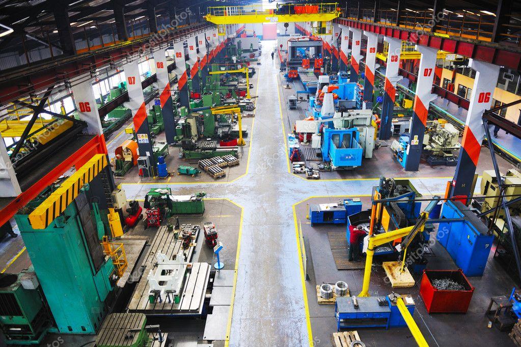 Metal industy factory indoor