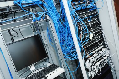 Network server room routers