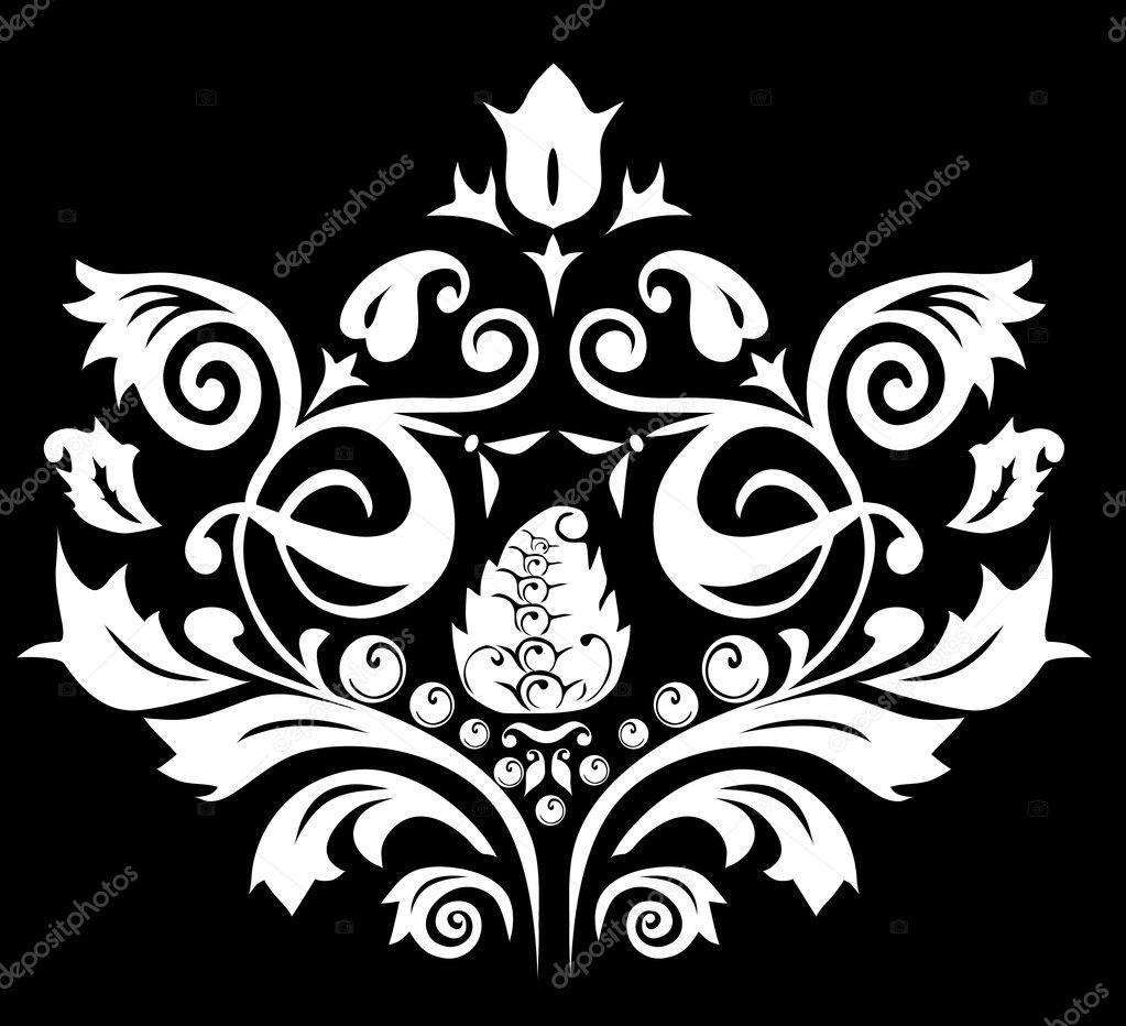 white color symmetrical pattern u2014 stock vector dr pas 6261389
