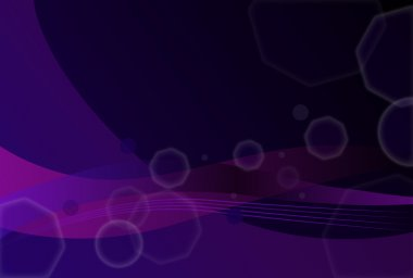 abstract background with octagons and lines