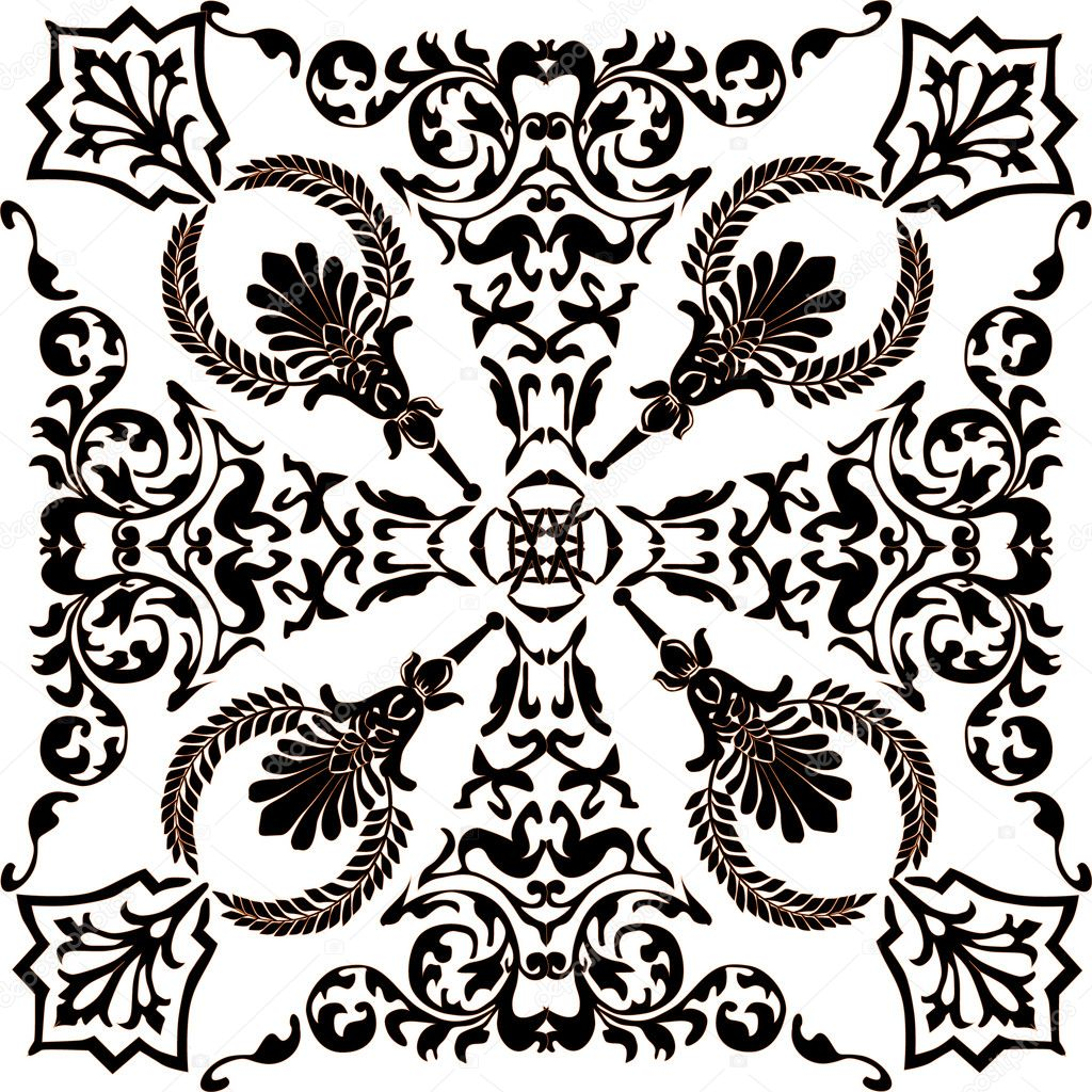 орнаментов симметрия рисунки и