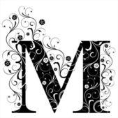 Fotografia lettera capitale m