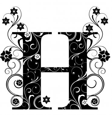 Letter Capital H