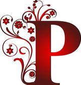 Piros nagybetűvel P