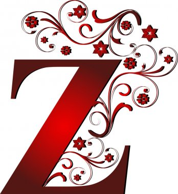 capital letter Z red