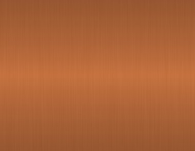 Texture brushed copper