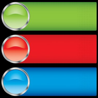 Button banners