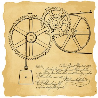 Gears with notes
