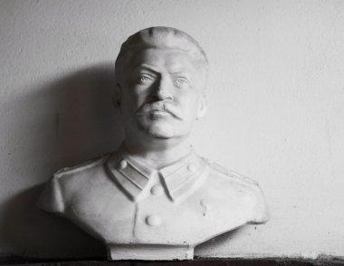 Stalin's sculpture portrait