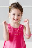 Photo Happy little girl