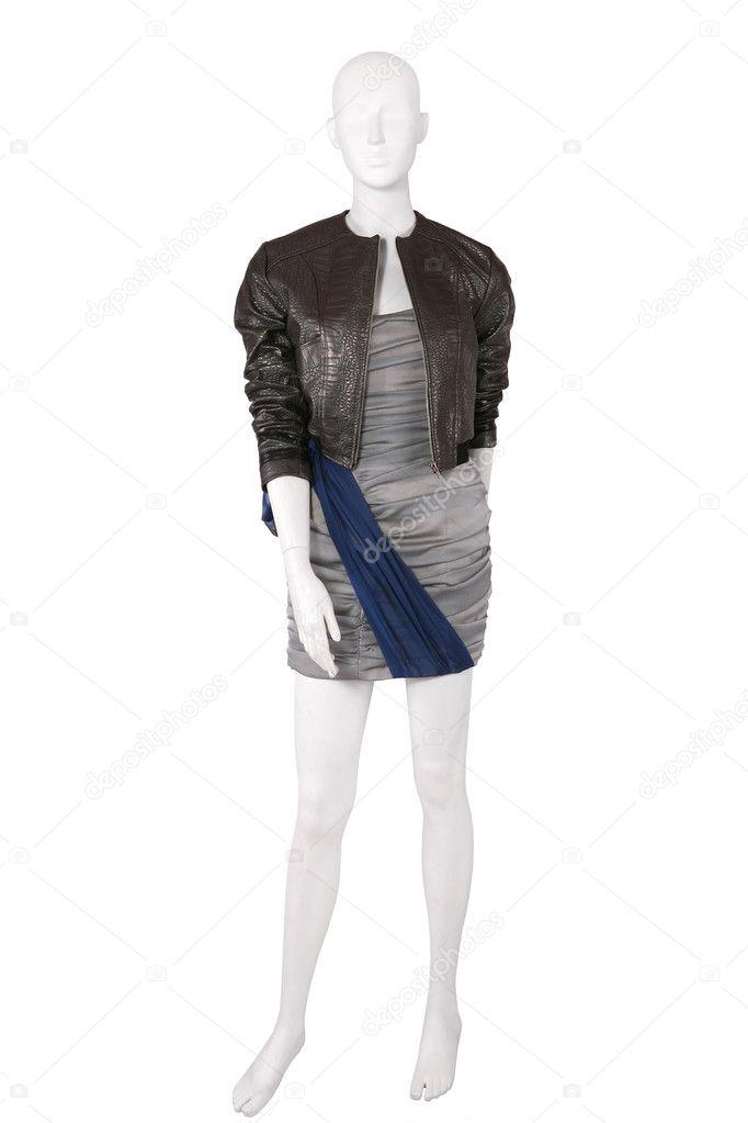 контур картинка куртки манекен потом