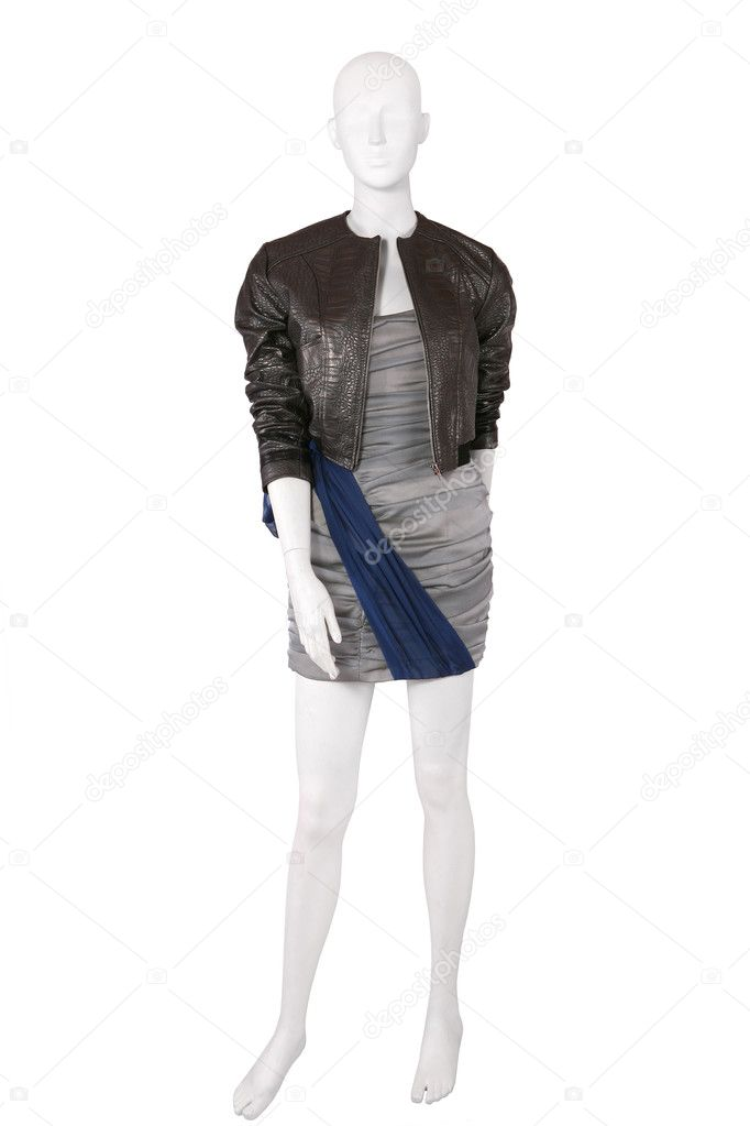 geklede jurk met jasje