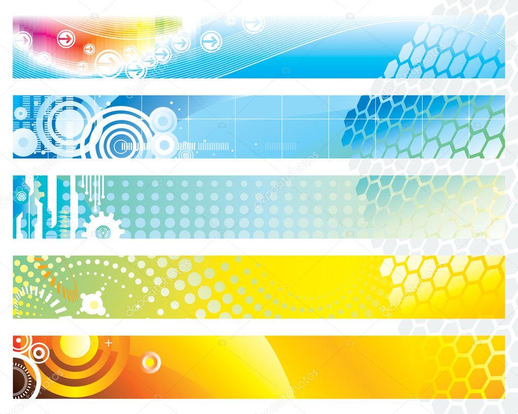 Vector Illustration Web Designs: Stock Vector © Jineekeo #6283367
