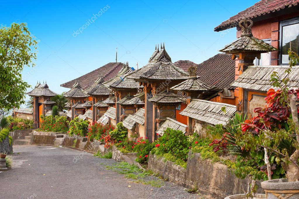 Bali. Indonesia. Rural street. — Stock Photo © KKulikov ...