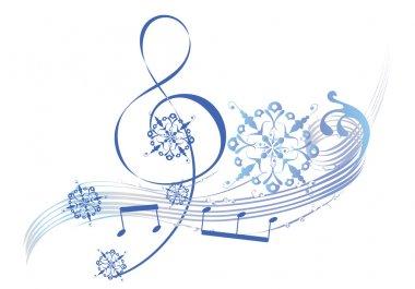 Art musical treble clef