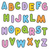 Photo Polka-dot alphabet set