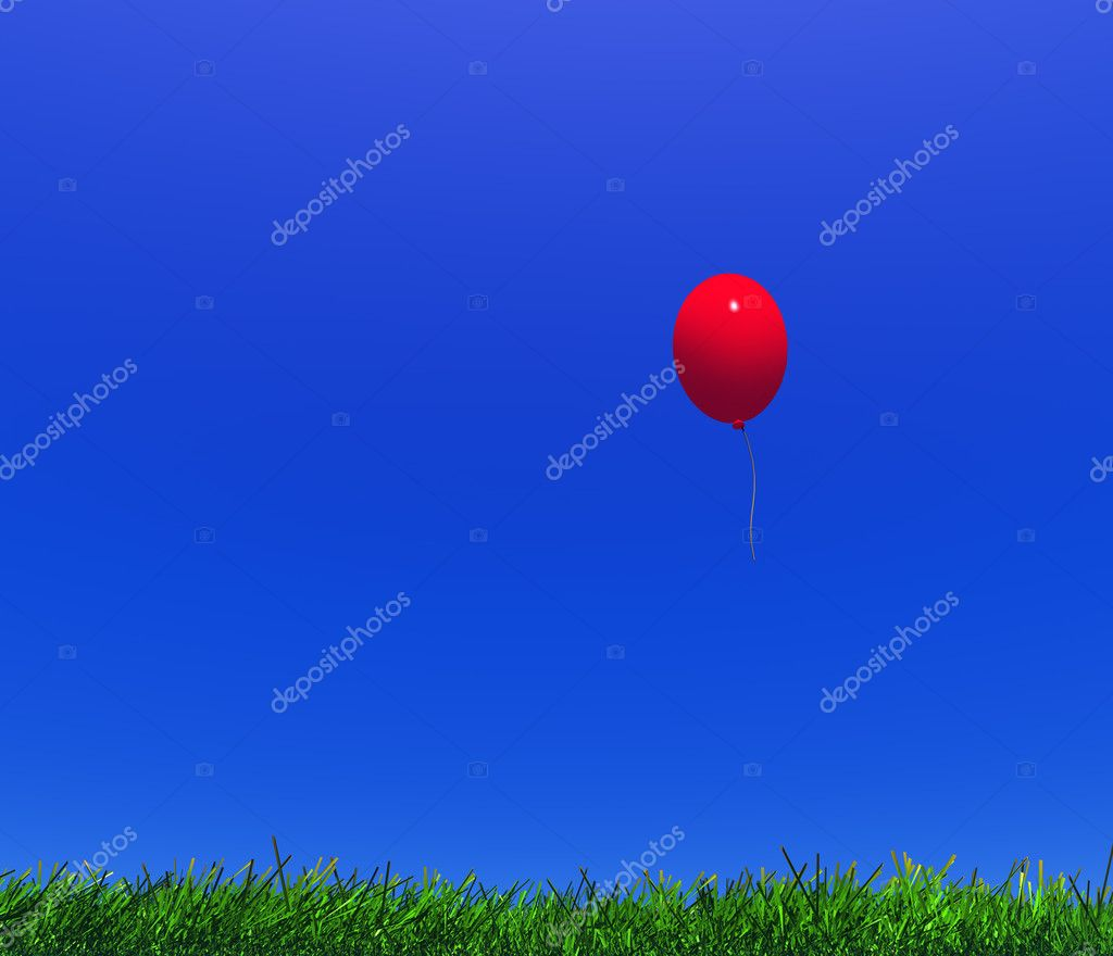 Child's balloon