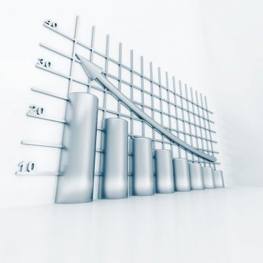 Silver columns of diagram
