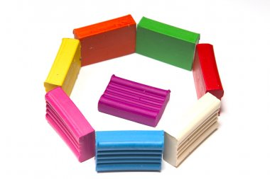 Bright plasticines bars
