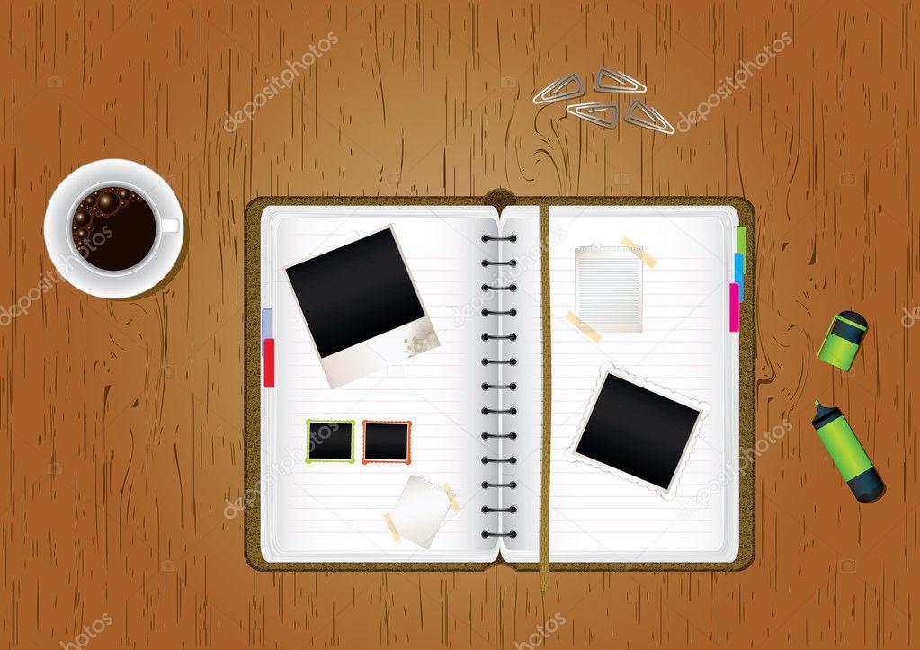 Office Desktop Coffee