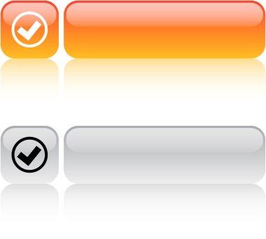 Mark square button.