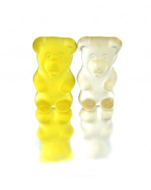 Two jelly bears