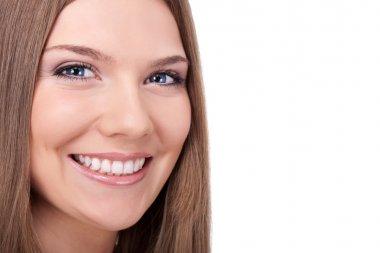 Beautiful smile woman