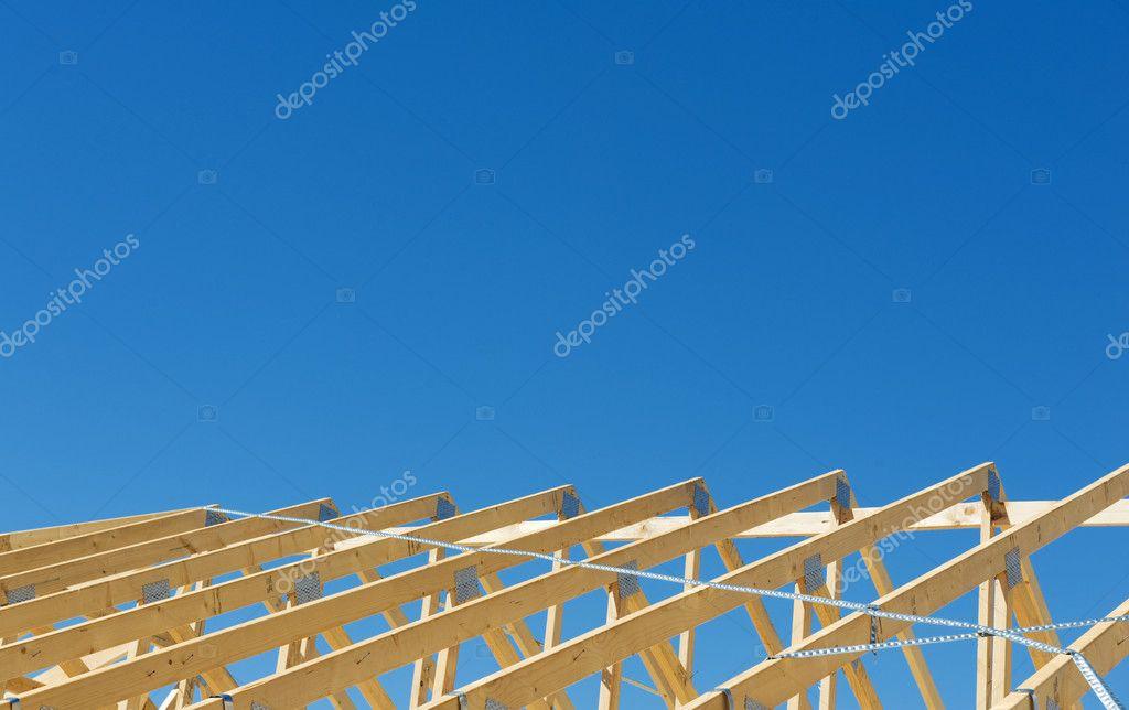 nueva estructura de construcción de viviendas — Fotos de Stock ...