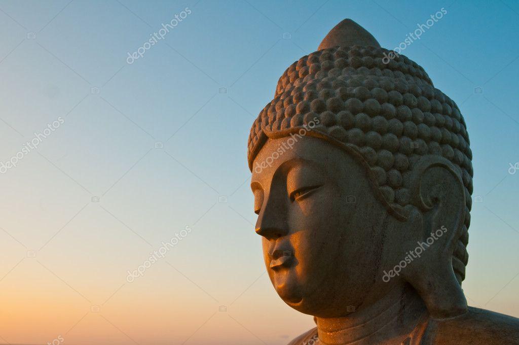 Bhudda at sunrise