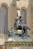 Saint Gheorghe statue