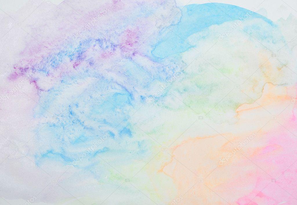 Cerca de los trazos de color agua pintura sobre fondo for Color agua marina pintura