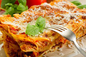 Fotografia Italiano lasagne al ragù