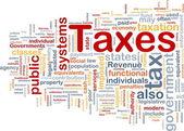 Steuern ist Knochen Hintergrund Konzept