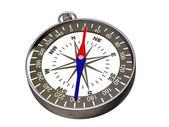 kompas na bílém - Ořezová cesta