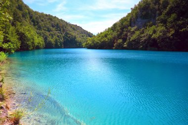The Plitvice Lakes National Park (Croatia)